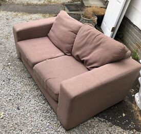 Two seater sofa and three seater sofa
