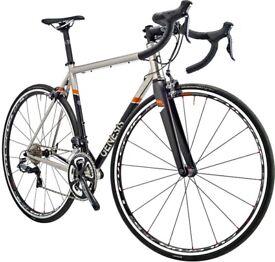 Genesis Volare Stainless 2015 Ultegra Di2 Silver 54cm medium bike road