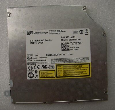 Dell CA10N 12.7 MM SLOT LOAD BLU-RAY READER DVD BURNER For Dell Studio 1735  ()