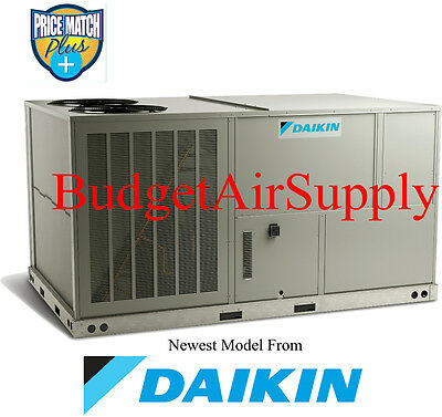DAIKIN Commercial 7.5 ton (460v)3 phase 410a A/C Package Unit-Roof/Ground