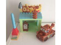 Cars Lego petrol pump