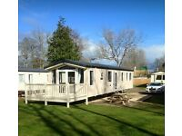 ATLAS PISCES @HAGGERSTON CASTLE, 3 BEDROOM LUXURY CARAVAN. JUN-DEC 2017