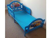 Character World OFFICIAL DISNEY CARS TODDLER JUNIOR CHILD BED & SAFETY RAILS Kids Bedroom Furniture