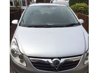 Vauxhall corsa life silver