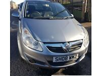2008 VAUXHALL CORSA Breeze 1.2, Manual, Sunroof, Aux, MOT, Full V5, 2 Keepers, Cheap Car.