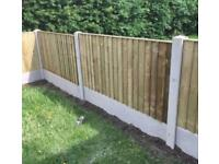 ❗️New Flat Top Feather Edge Fence Panels •