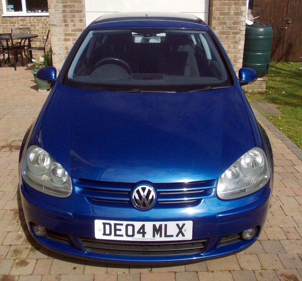 VW GOLF MK5 (2004) GT TDI 140 2.0L 5DR MANUAL BLUE SERVICE