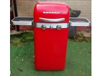 *no offers* Sahara Memphis 2 gas burner barbecue,2 burners,warming rack and side shelves