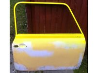 Classic Mini Spares, Drivers side door for 1970's Mini onwards