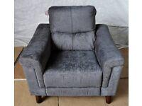 Pepper Fabric Power Reclaining Chair