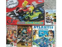 SIMPSONS SCALEXTRIC~LEGO ATLANTIS/SHAVE A SHEEP/MAGMA MONSTER/HEROICA