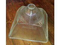 Vintage Holophane Light Fitting