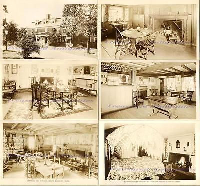 1930s South Sudsbury Massachusetts Longfellow Wayside Inn Real Photo Postcards 6