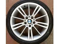 BMW ALLOY WHEELS SINGLES FRONT REARS MV2 MV3 MV4 SPYDER ETC