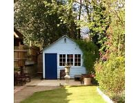 Garden room, home office, gym, garage conversion, shed, decks, Surrey, Hampshire, Berkshire