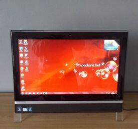 PACKARD BELL ALL IN ONE TOUCH SCREEN DESKTOP COMPUTER