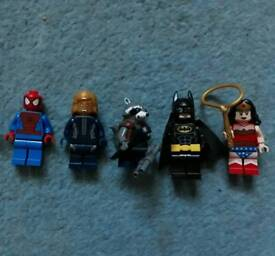 Lego Marvel and D.C minifigures Batman