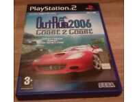 Outrun 2006 Coast 2 Coast PS2 - Good Condition - Video Game