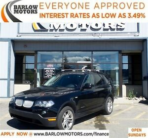 2010 BMW X3 xDrive30*EVERYONE APPROVED* APPLY NOW DRIVE NOW.