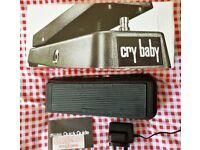 Dunlop Cry Baby Wah pedal GCB95 (vgc) + FREE PSU + free p+p (UK only)