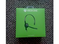 Xbox One Chat Headset - Practically Brand New, Never Used. Original Box Included.