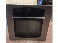 Belling single oven for kitchen unit.