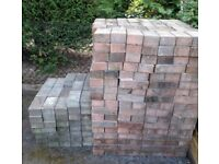 Block Pavers - Pink/Grey - Approx 1300