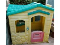 Little tikes magic door bell playhouse