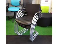 Orangebox go cantilever chairs conference meeting cheap office furniture Harlow Essex London
