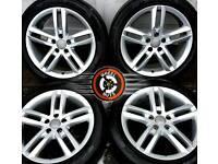 """18"""" Gen Audi S Line twin spoke alloys great cond, almost new Pirelli P Zeros."""
