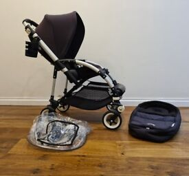 Bugaboo Bee 3 with Newborn Cocoon Black. Excellent condition.