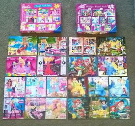 Disney Ravensburger jigsaw puzzle sets