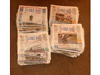 209 x OLD BIKE MART Newspapers 1995 to 2015
