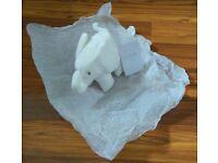 The White Company Elephant comforter