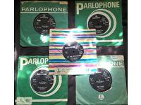 BEATLES vinyl singles X 5 ** UK & Australian pressings