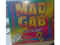Mad Gab board game – brand new