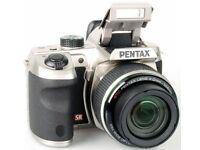 Pentax X5 Bridge Camera 4mm - 104 mm zoom lens