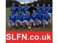 WEEKEND 11 ASIDE FOOTBALL IN LONDON, FIND FOOTBALL, PLAY FOOTBALL, new players wanted. 191h