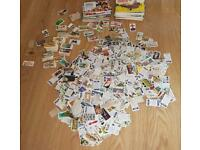 Job lot (2.1kg) of collectible cigarette cards