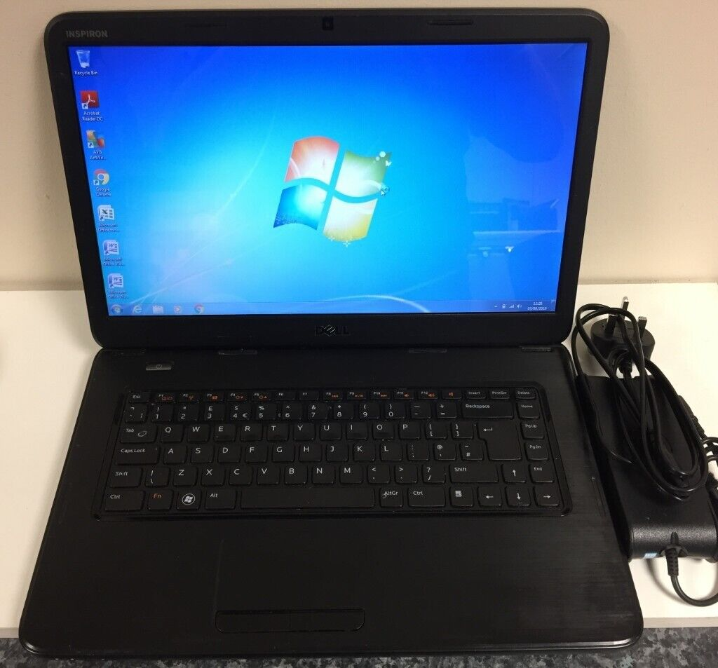 Dell N5050 Laptop  Good Condition  Windows 7, Office, AntiVirus etc  New  Battery  HDMI, DVD Rewriter | in Methil, Fife | Gumtree