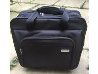 Targus Executive Laptop Roller Bag on Wheels Black