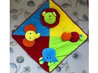 *Reduced* Mamas & Papas Infant Velour Playmat