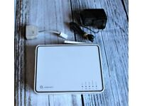 o2 Wireless Box II With Power Cable & ADSL Filter Wireless Router by Thomson