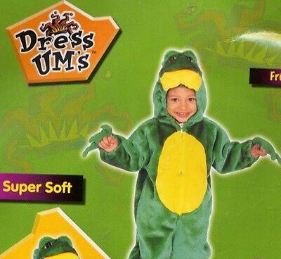 frog froggie costume halloween playtime warm soft zip front size 2 3 new](Froggy Halloween 2)