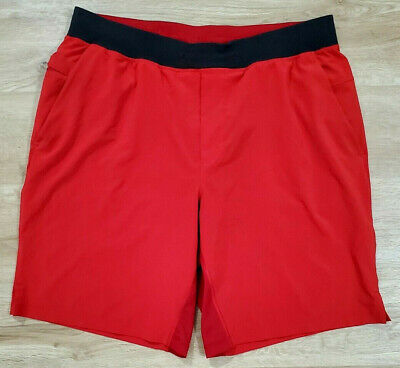 Lululemon Mens Shorts Size XL T.H.E. Short 9 Inch Lined Red
