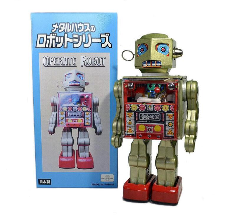 Japanese Tin Toy Robots : Tin robot japan ebay