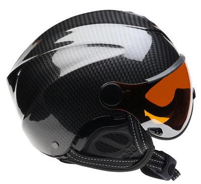Used, Icaro Nerv Helmet & Orange Visor for Paragliding, Hang Gliding, Speedriding for sale  Santa Barbara