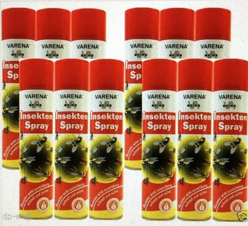 4,70-4,17€/L  Varena Insektenspray 400 ml Mückenspray Fliegenspray Wespenspray