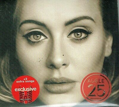Adele 25  Deluxe Edition With 3 Bonus Tracks  New Cd Free Shipping