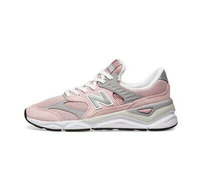 New Balance X-90 Running Sneakers Pink Grey Silver MSX90RMN Men's Size 9.5